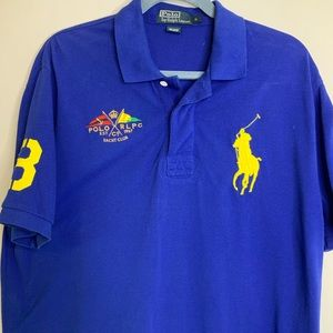 Polo by Ralph Lauren Big Pony Yacht Club Sz L